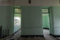 Abandoned insane asylum photography