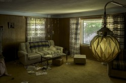 Abandoned Mid Century Home in Ontario