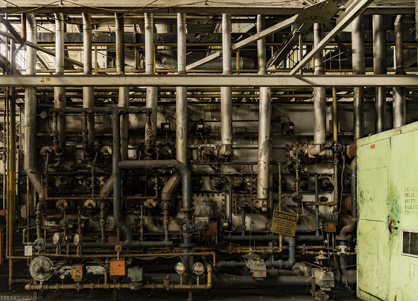 Industrial Urban Exploration Photography of an St Catharines GM Plant