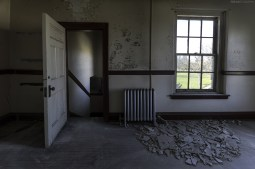 Abandoned Psychiatric Hospital Urban Exploration Photography