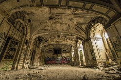 Lee Plaza Detroit Abandoned Ballroom