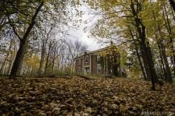 Abandoned House, Fall Scene.