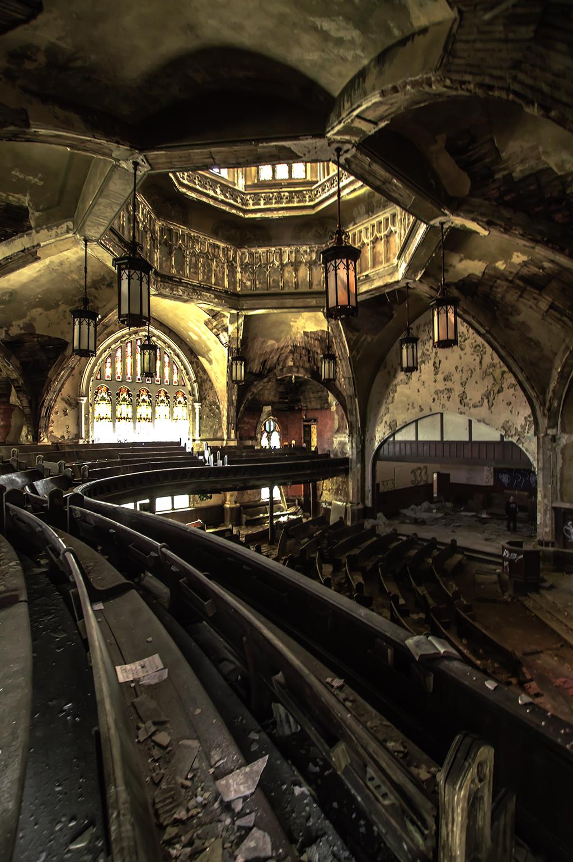 Abandoned Detroit   Freaktography   Urban Exploring  