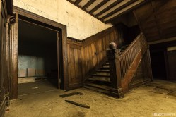 Abandoned Private Hospital Stairs