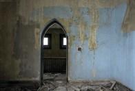 A door in an abandoned Buffalo Church