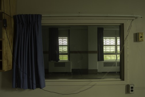 Ontario Abandoned Psychiatric Hospital Freaktography Curtain