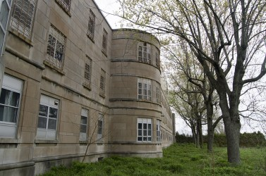 Ontario Abandoned Psychiatric Hospital Freaktography Exterior