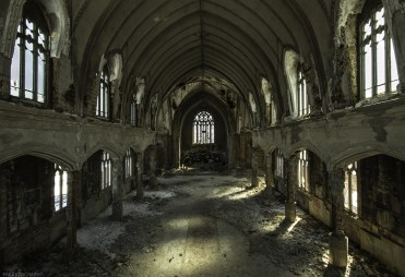Abandoned Cathedral in Detroit