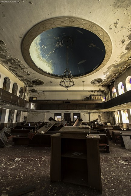 Abandoned Church Detroit