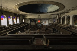 Abandoned Detroit Church