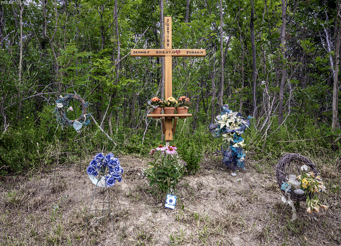 Roadside Memorial Ontario