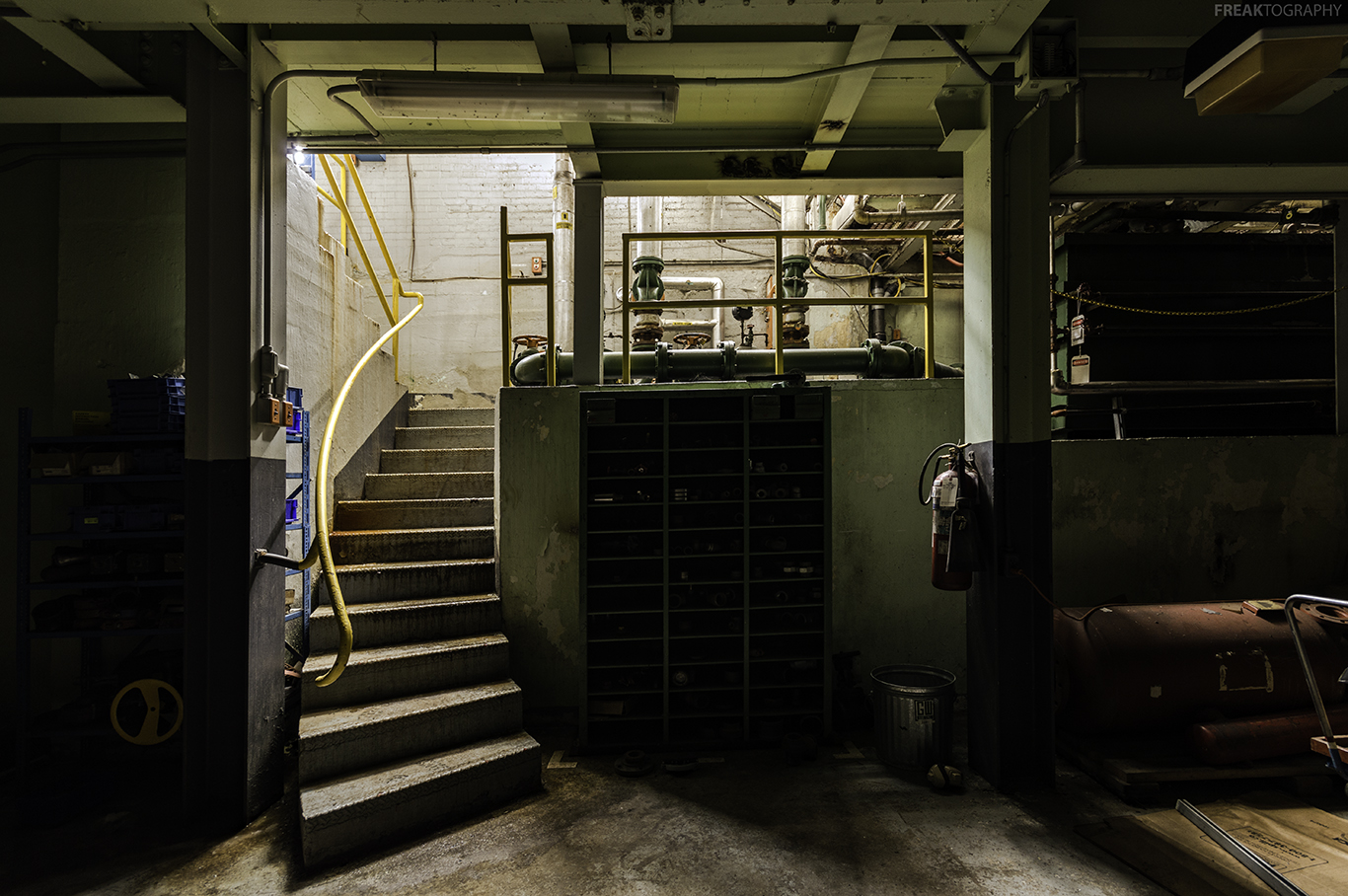 Abandoned Industrial Photography