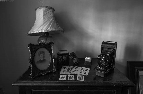 Inside the most complete and intact house I have ever seen sits dundreds of antique items over several generations.