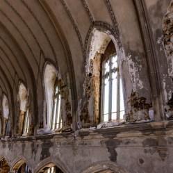 Abandoned Detroit Church Windows