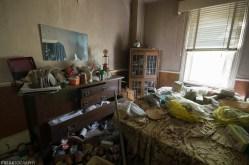 Abandoned Ontario Creepy House