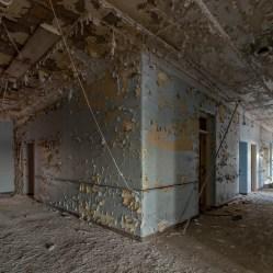 Abandoned Hallway New York State