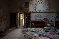 Abandoned High School in Detroit.