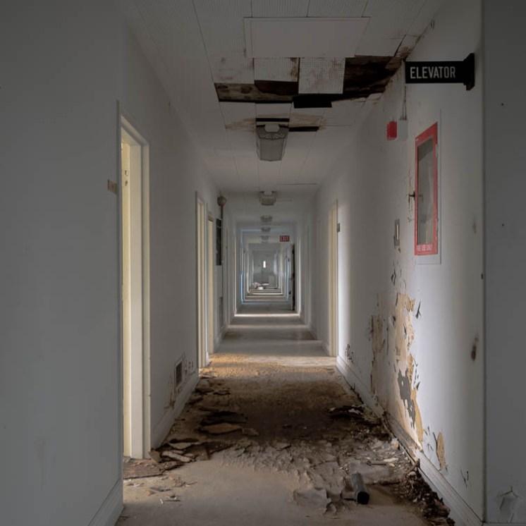 Abandoned Office Building Hazardous Materials