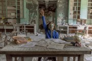 Post apocalypse urban exploring fiction photo, abandoned, abandoned photography, abandoned places, creepy, decay, derelict, Freaktography, haunted, haunted places, photography, urban exploration, urban exploration photography, urban explorer, urban exploring