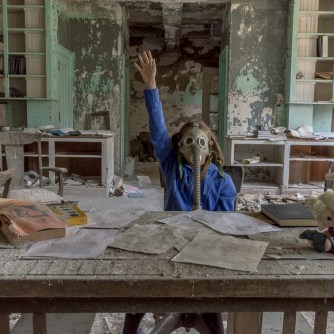 Post apocalypse urban exploring fiction photo