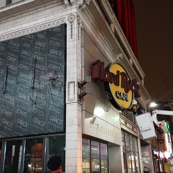 Freaktography Hard Rock Cafe Toronto Sign Removal