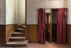 Confessional Booth in Rural Ontario Abandoned Church