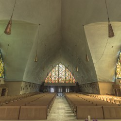 abandoned, Abandoned Church, abandoned photography, abandoned places, church, creepy, decay, derelict, Freaktography, haunted, haunted places, PEWS, photography, row, rule of thirds, stained glass windows, urban exploration, urban exploration photography, urban explorer, urban exploring, vanishing point