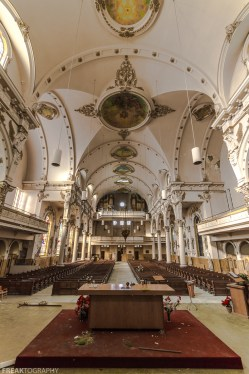 Abandoned Church, Freaktography, abandoned, abandoned cathedral, abandoned photography, abandoned places, cathedral, church, creepy, decay, derelict, haunted, haunted places, photography, religion, urban exploration, urban exploration photography, urban explorer, urban exploring, vertical, vertical wide, vertical wide angle