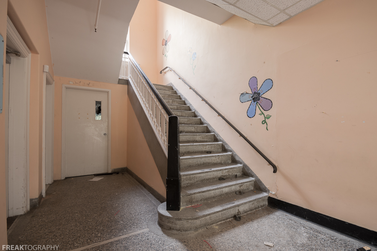Foyer Staircase Urban Dictionary : Foyer staircase abandoned daycare g freaktography