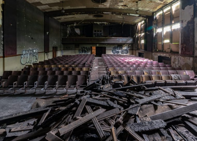 Abandoned Theater, Photography, URBAN EXPLORATION, abandoned, abandoned auditorium, abandoned detroit, abandoned detroit cathedral, abandoned detroit church, abandoned detroit high school, abandoned detroit michigan, abandoned detroit theater, abandoned detrout school, abandoned high school, abandoned photography, abandoned places, auditorium, creepy, decay, derelict, detroit, detroit abandoned, freaktography, haunted, haunted places, theater, urban exploration photography, urban explorer, urban exploring