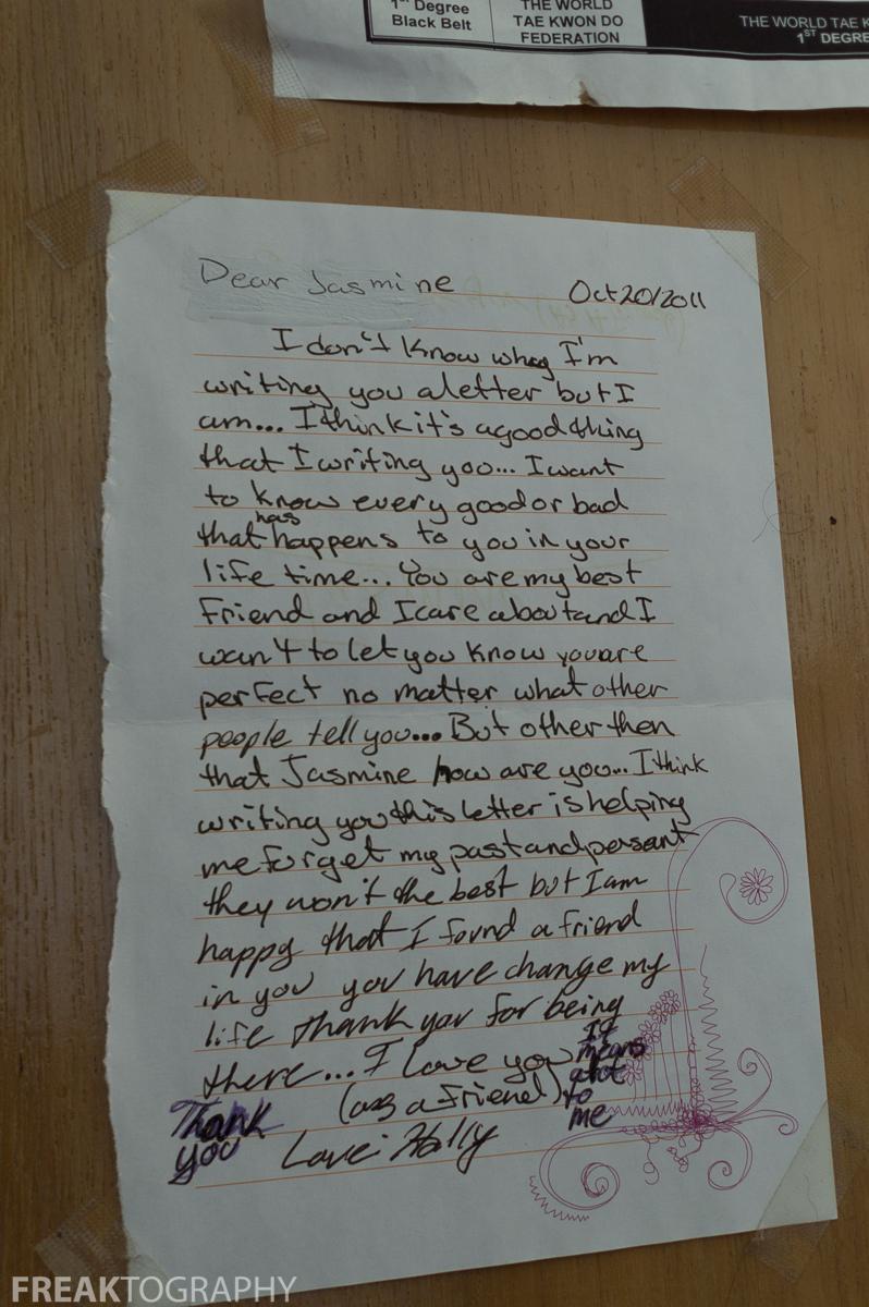 abandoned house creative writing
