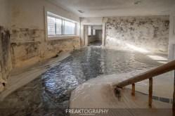 Abandoned Flooded Mansion Prestigious Neighbourhood