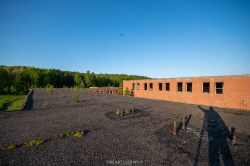 Abandoned Burwash Correctional Centre Camp Bison