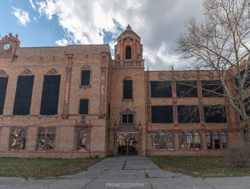 abandoned detroit cooley high school