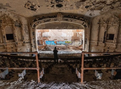 abandoned detroit cooley high school proper people