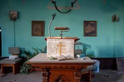 Abandoned Ontario Church Altar