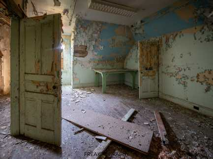 Abandoned St Josephs Hospital Parry Sound Ontario