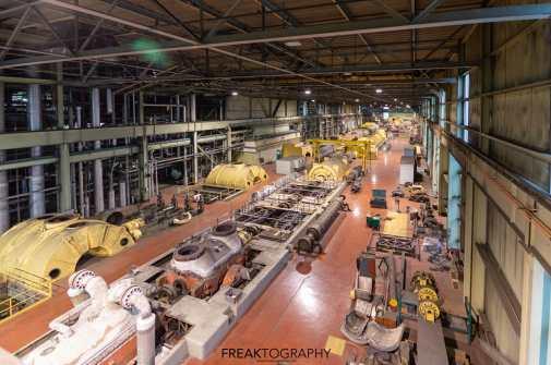 Exploring the Ontario Power Generation Lambton Coal Generating Plant