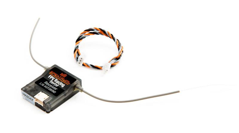 Spektrum DX6 Sender (Mode 2) inkl. Racequad Empfänger