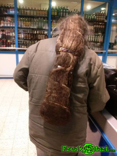 Beaver Tail Hair Freaky Mart