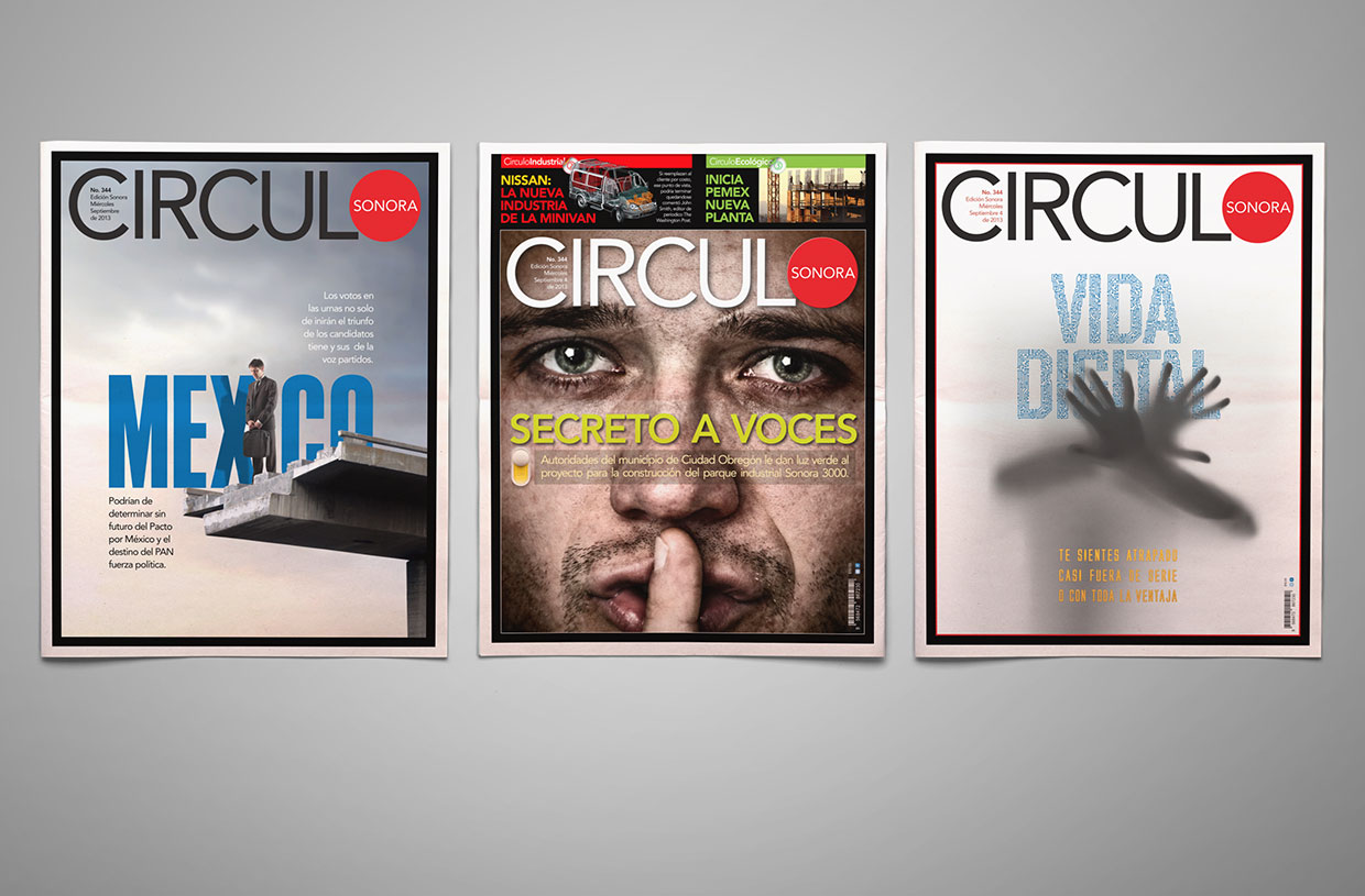 Circulo Magazine covers