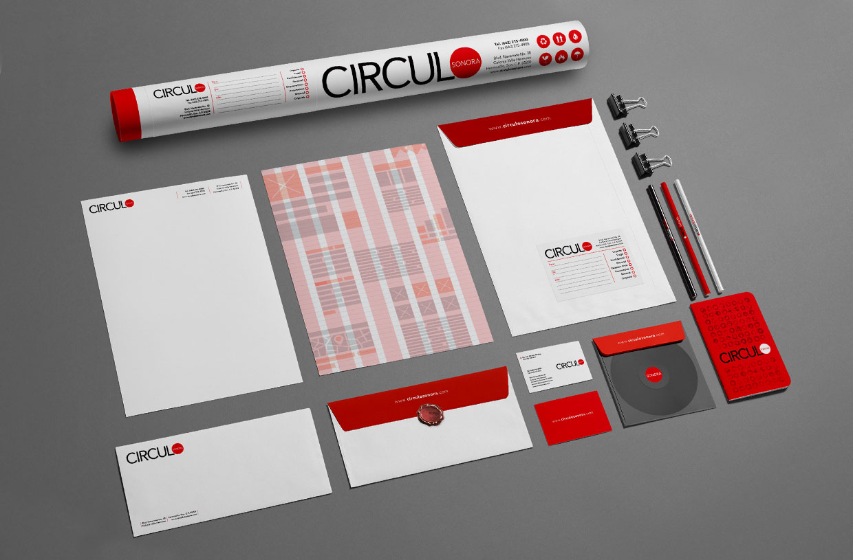 Circulo Magazine stationery