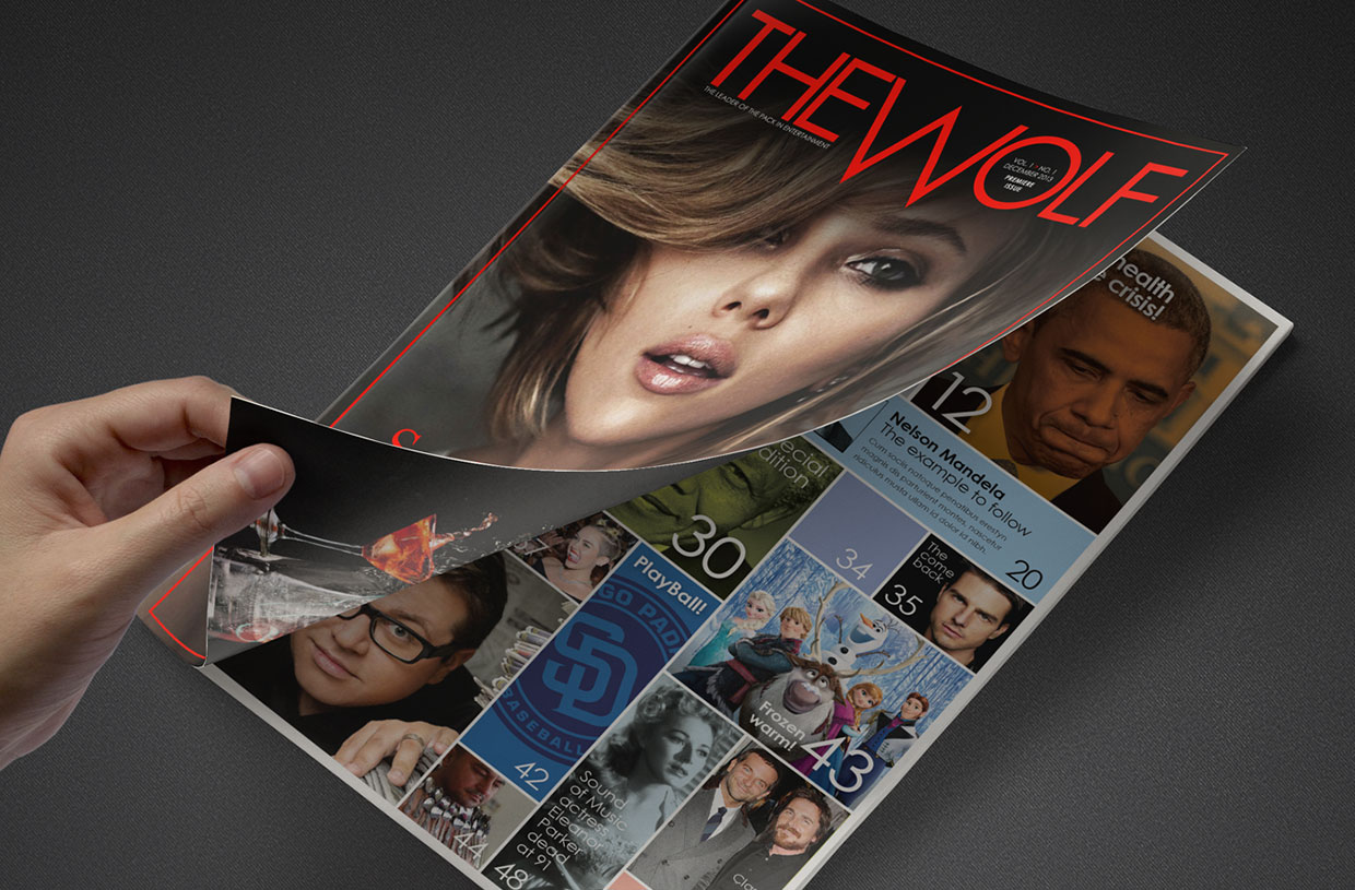 The Wolf Magazine Cover