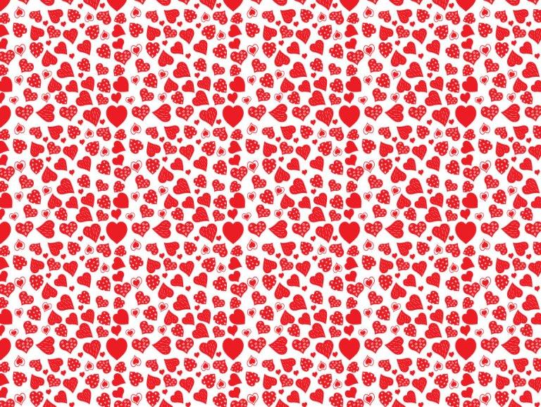 Red Heart Pattern Design