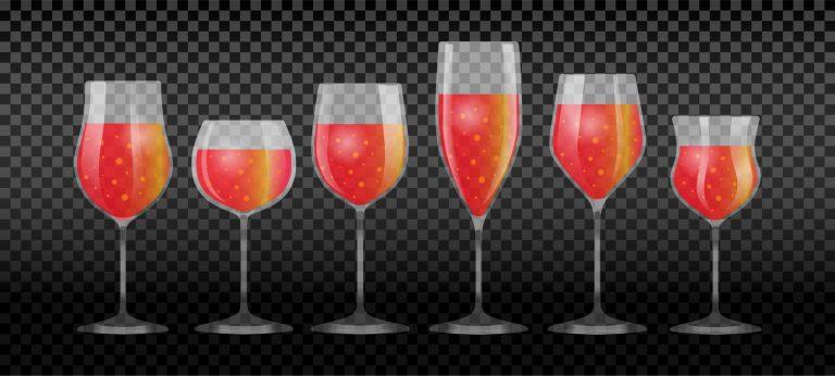 Wine Glasses Free Vector Download