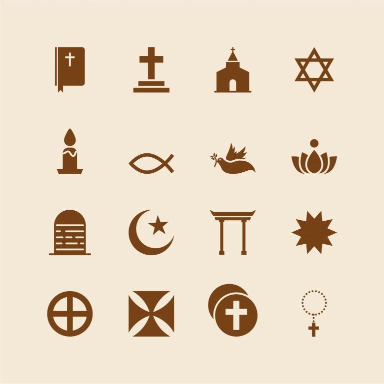 Christian Symbols Free Vector Art