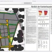 Bebauungsplan Gewerbegebiet Krankenhausstraße