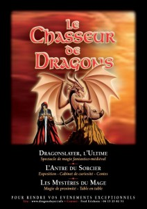 Le Chasseur de Dragons - spectacle de magie médiévale