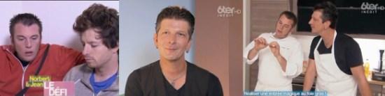 Fred, magicien mentaliste depuis 1987 a participer à l'émission de Norbert & Jean sur M6 et 6TER en mélangeant la magie et la cuisine.