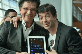 stephane plaza magie ipad